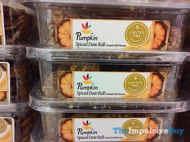 Giant Limited Time Originals Pumpkin Spiced Date Roll