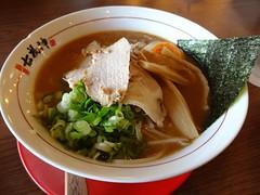 Shoyu-Soup Ramen @Shichifukujin, Star-Plaza, Gubei…