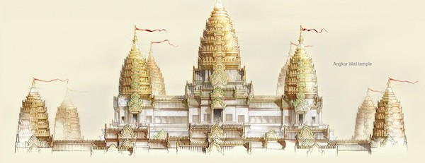 5 AMAZING SECRETS OF THE ANGKOR WAT BLUE OSA YOGA JOURNEYS CAMBODIA GOLDEN DRAWING