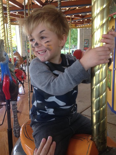 Elliott's Choice on the Carousel