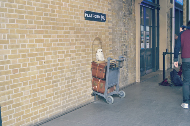 platform 9 kings cross harry potter