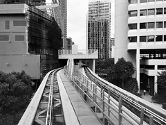 Brickell City Centre Metromover Station Construction