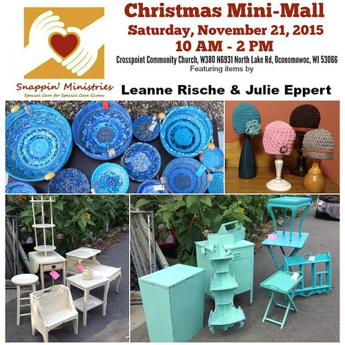 Have you heard about our upcoming 3rd Annual Christmas Mini-Mall? It features artisans like THIS!