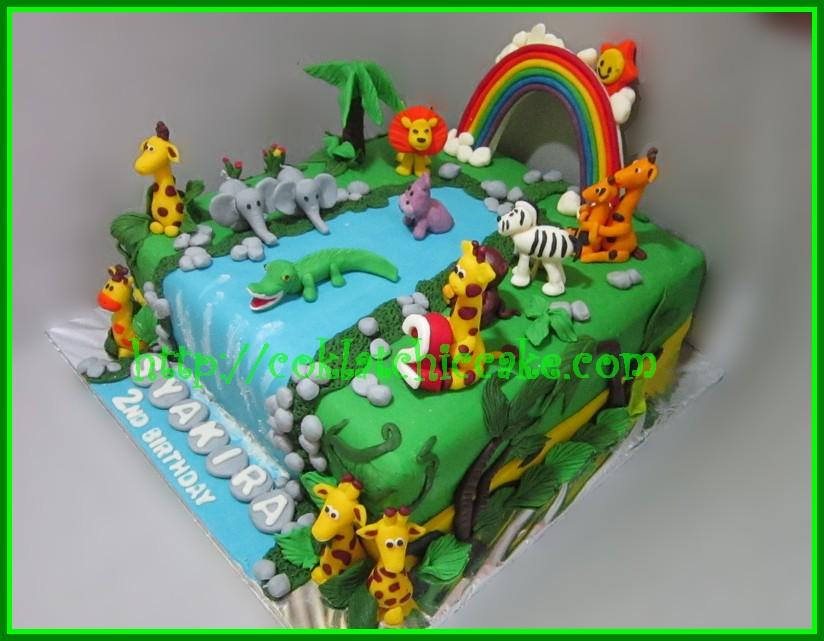 Cake Animal Syakira Jual Kue Ulang Tahun