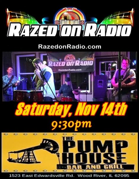 Razed on Radio 11-14-15