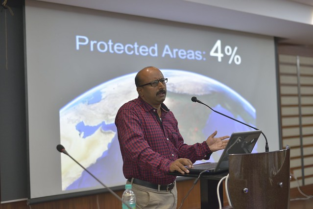 Mr. Muthanna spoke of the various issues of international nexus of poaching, electrocution incidents and religious tourism and of the various conservation actions undertaken by WCS.
