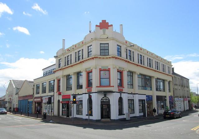 Art Deco Building, Bathgate