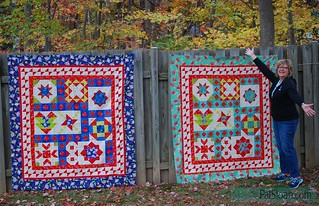 pat sloan vacation time final quilt both quilts 2
