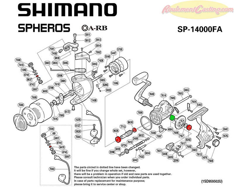 Schema-Shimano-Spheros-14000FA