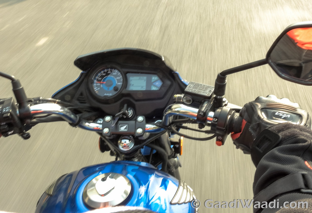 Honda CB Shine Sp test ride review-3