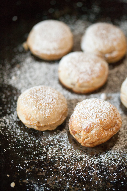 Spiced Pear Aebelskivers