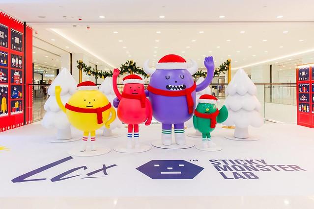 LCX × 黏黏怪物研究所【聖誕玩具樂園】The SML Toy Shop