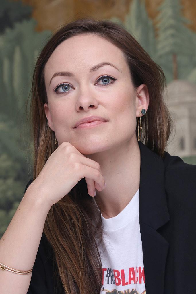 Оливия Уайлд — Пресс-конференция «Винил» 2015 – 22