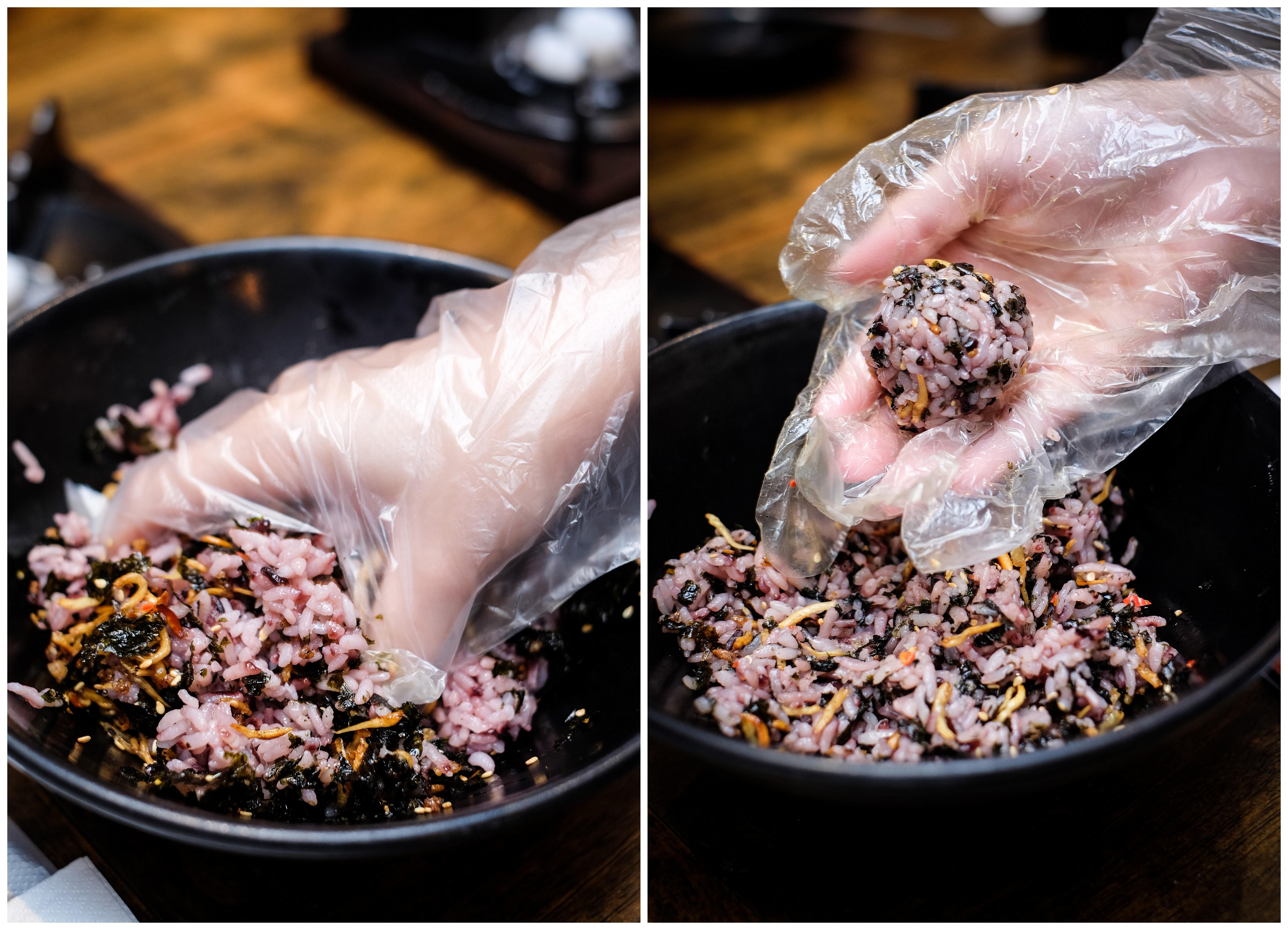 Masizzim rolling rice