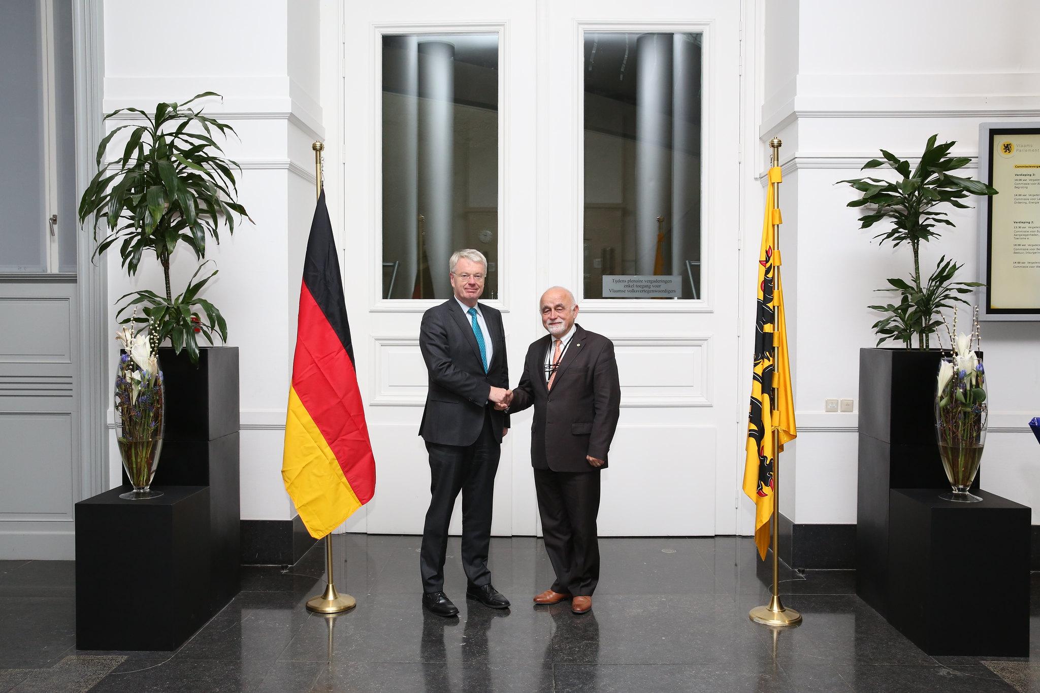 24 november 2015 Ontvangst van de Ambassadeur van Duitsland