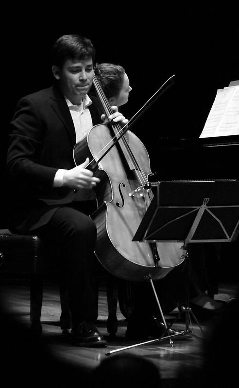 """DÚO ASCHKAR-WEIGLE CELLO & PIANO - FESTIVAL INTERNACIONAL DE MÚSICA DE CÁMARA """"FUNDACIÓN MONTELEÓN"""" 2015 - AUDITORIO CIUDAD DE LEÓN - 8 DICIEMBRE´15"""