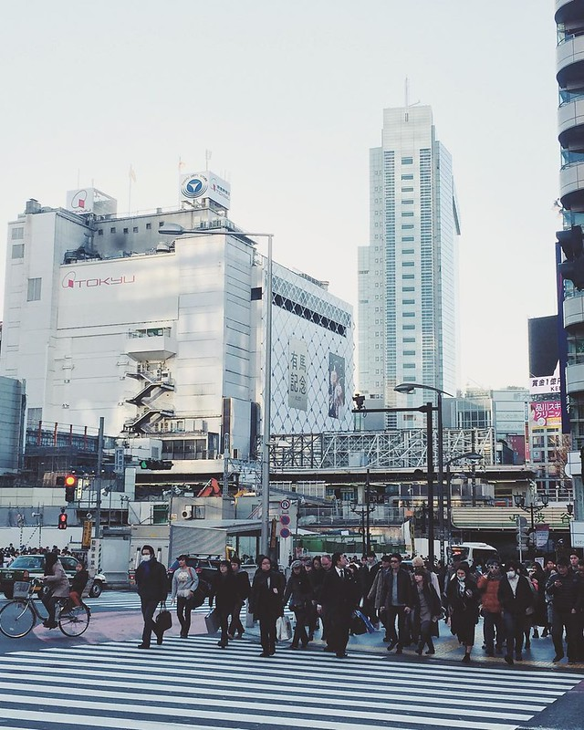 Being an introvert + Tokyo = no bueno. Fun to visit though.