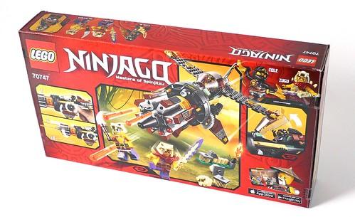 LEGO Ninjago 70747 Boulder Blaster box02