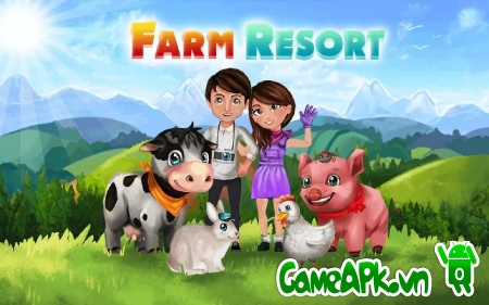 Farm Resort v0.12.5 hack full tiền cho Android