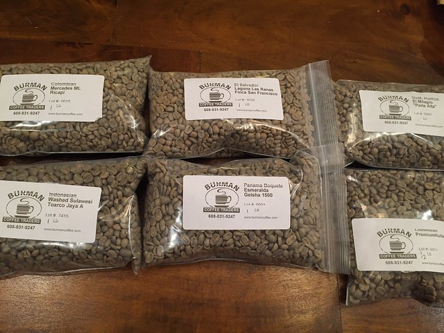 New batch from Burman Coffee
