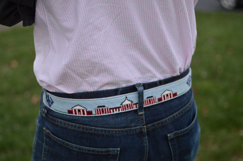 Needlepoint Belt | allie J. | alliemjackson.com