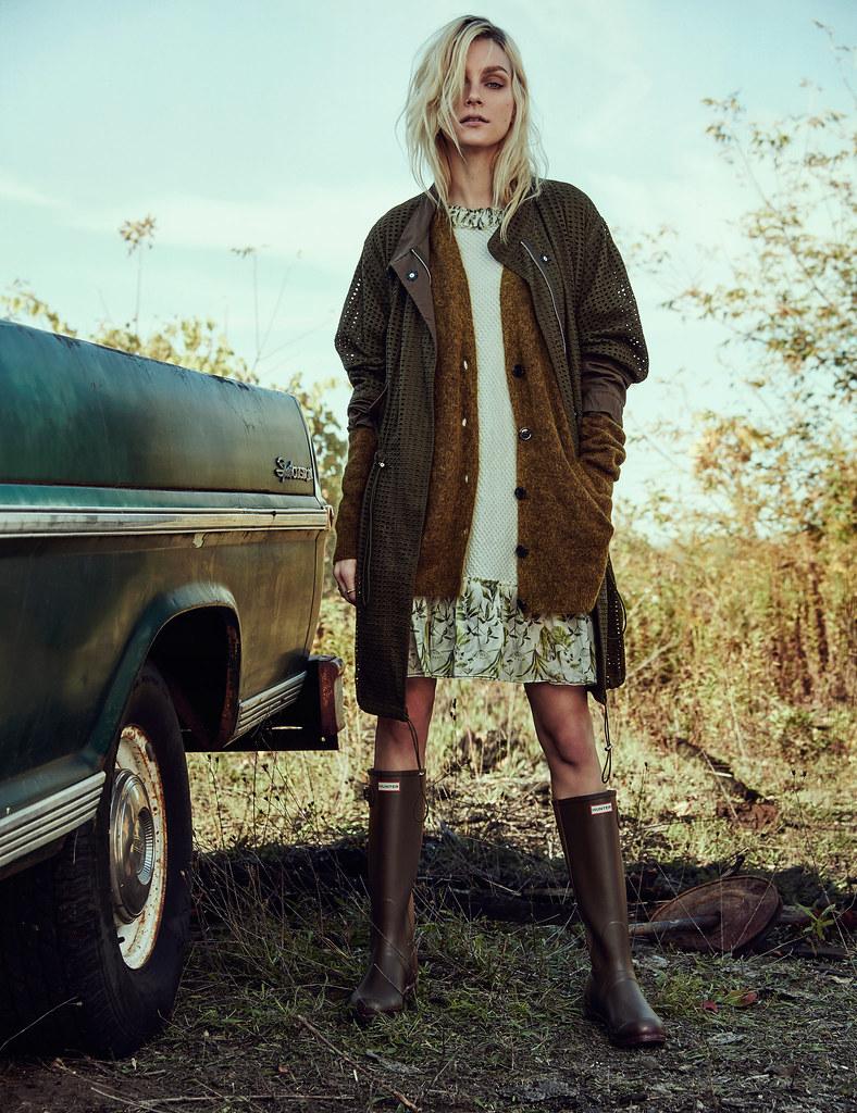 Джессика Стэм — Фотосессия для «W» 2015 – 3