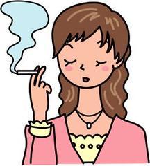 20代女性薄毛喫煙