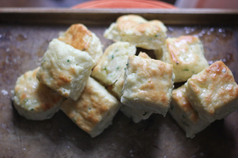 Sour Cream and Onion Biscuits | Southern Soufflé