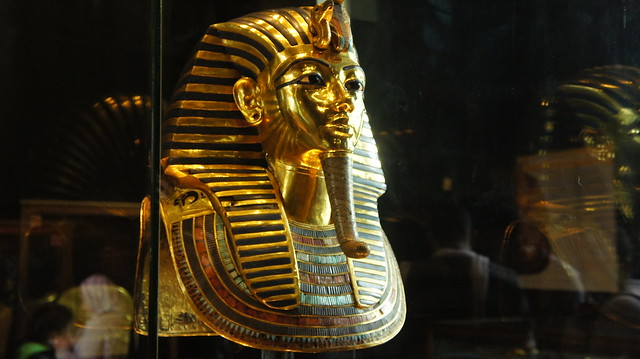 King Tutankhamen's mask at Cairo's Egyptian Museum