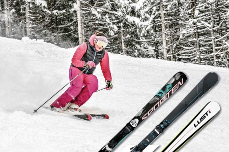 Pro koho jsou dámské lyže?