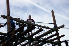 Greg on the Assault Course Image