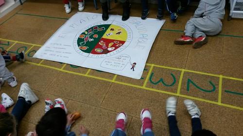 Taller de alimentación saludable y cocina creativa en los colegios