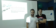 Innovadoras TIC en la Asociación de Fibromialgia de Almería. Octubre 2016