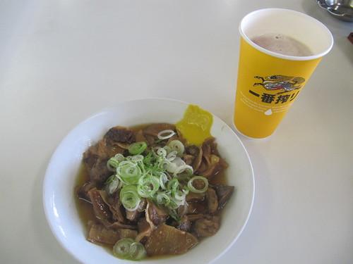金沢競馬場の不二家大食堂の牛スジ煮込み