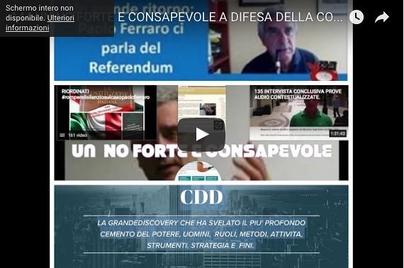 UN NO FORTE E CONSAPEVOLE A DIFESA DELLA COSTITUZIONE PLURALISTA PER RICOSTRUIRE DAL GIORNO DOPO DEMOCRAZIA E LEGALITA http://ift.tt/2gtYRAB