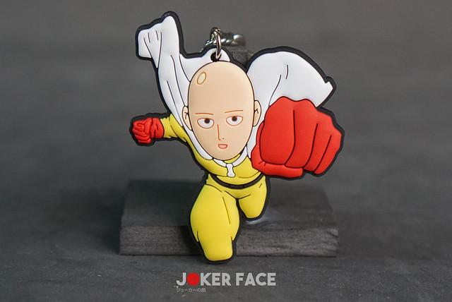 Móc khoá cao su Saitama - One Punch Man