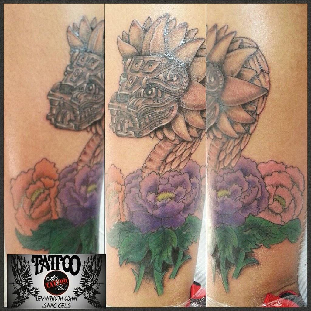 2da Sesión Expo Tattoo Aguascalientes Quetzalcoatl Flores Pomona