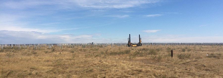 ORTECO на строительстве крупнейшей солнечной электростанции в России