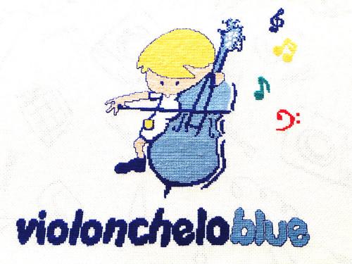 Violonchelo Blue