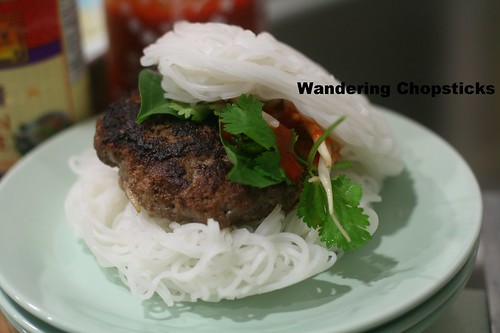 Pho Burger with Vietnamese Beef Noodle Soup Spices 14