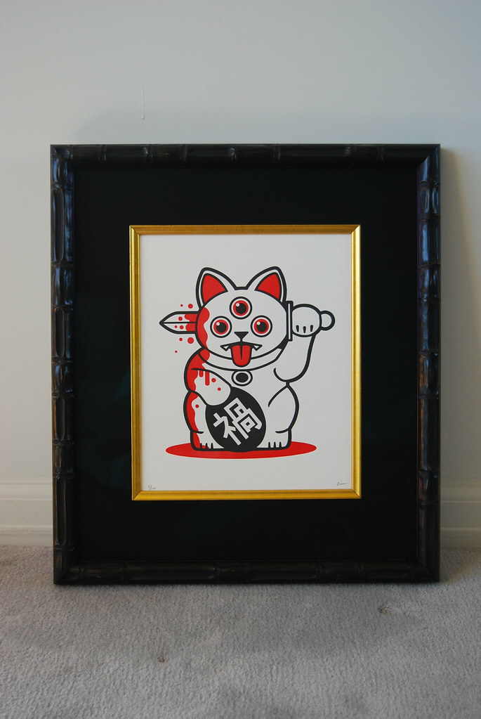 MISFORTUNE CAT PRINT - Available Now? 20824122449_a144e7f299_b