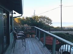 Front balcony, early morning