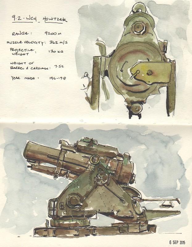 20150906 - WWI Howitzer