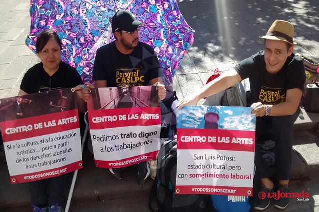 Denuncian a autoridades del Centro de las Artes ante la CEDH