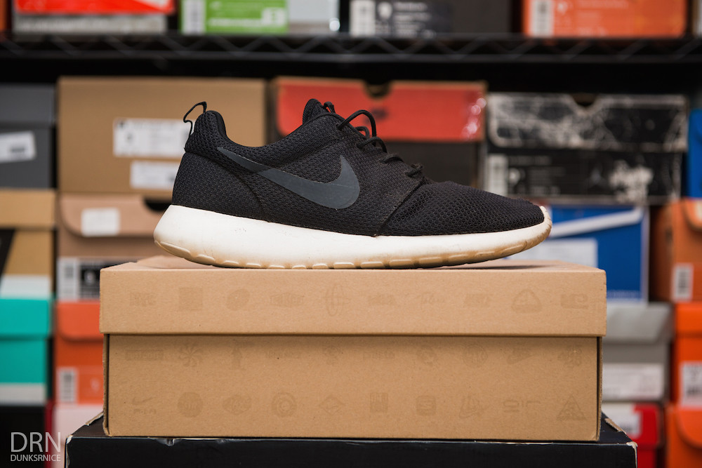 Black Roshe Runs. First Pair.