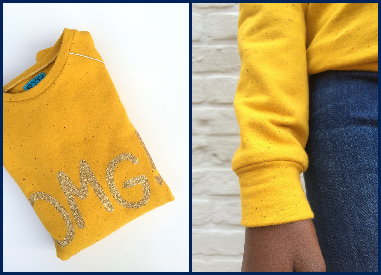 gold sweater (collage1)