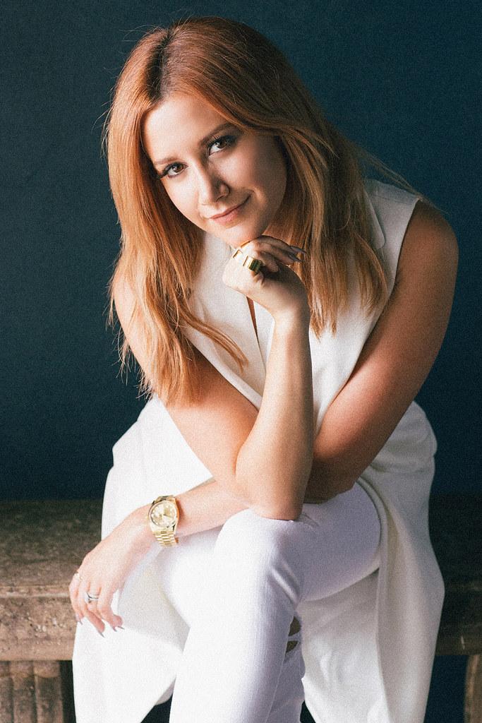 Эшли Тисдейл — Фотосессия для «Elle» 2015 – 2