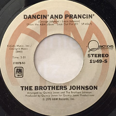 THE BROTHERS JOHNSON:STRAWBERRY LETTER 23(LABEL SIDE-B)