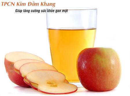 Bổ sung giấm táo giúp giảm đau do sỏi túi mật nhanh chóng