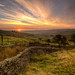 Wessenden Moor Sunrise by RD400e